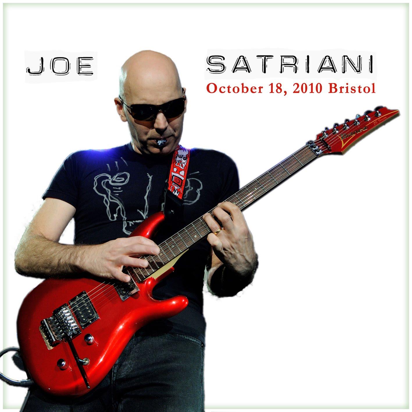 Joe Satriani SATRIANI2010BRISTOLFRONT