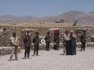 Détachement du 1er RCP en Afghanistan depuis le 18 juin 2009 Toa