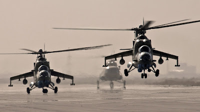 Mil Mi-35M2 Caribe venezolano MI-35-attack-helicopters-1