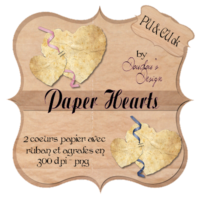 CU paperhearts by Doudou's Design PvPAPERHEARTS1000
