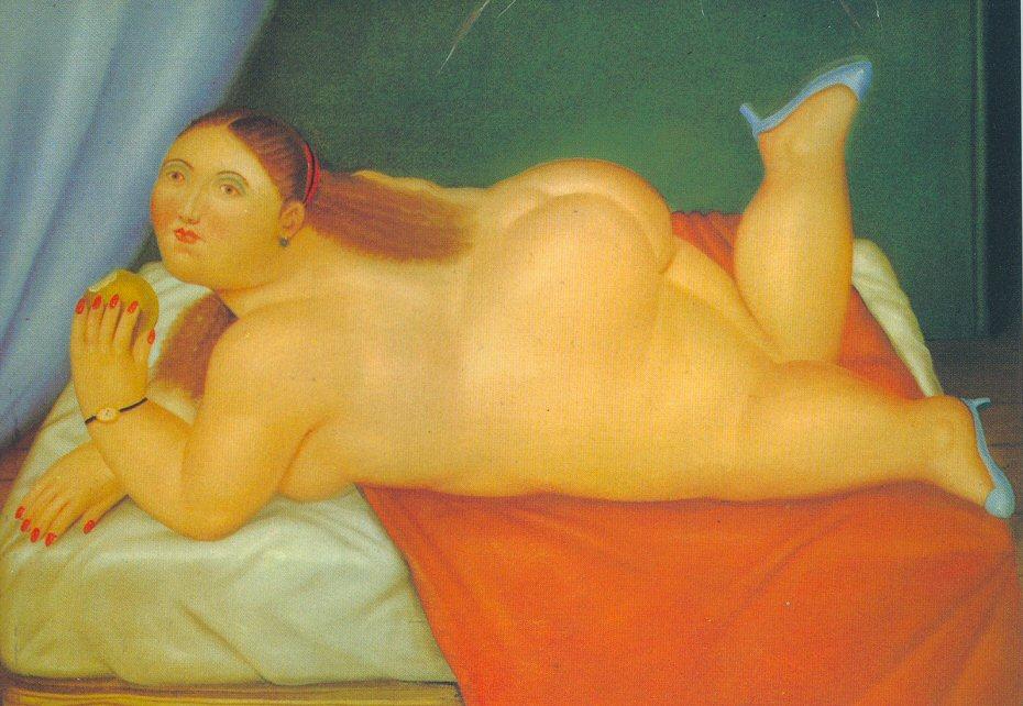"""Histoire de """"lard""""  Botero"""