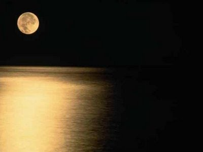 POEMAS SIDERALES ( Sol, Luna, Estrellas, Tierra, Naturaleza, Galaxias...) Lua_no_lago