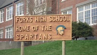 Estacionamiento del Instituto Forks_High_School