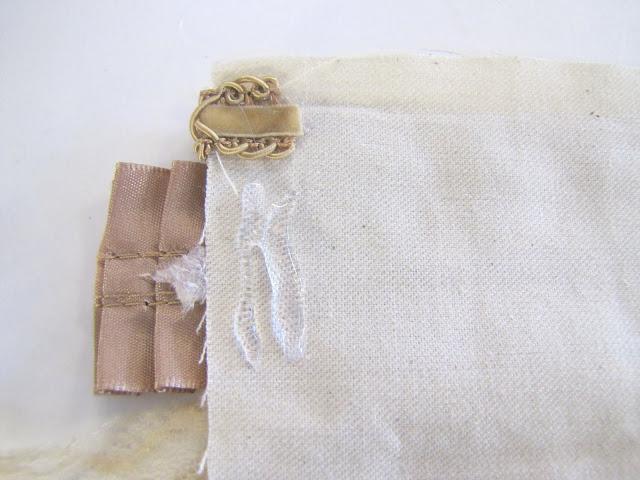 Браслет-манжета из ткани, лент и кружев IMG_8376