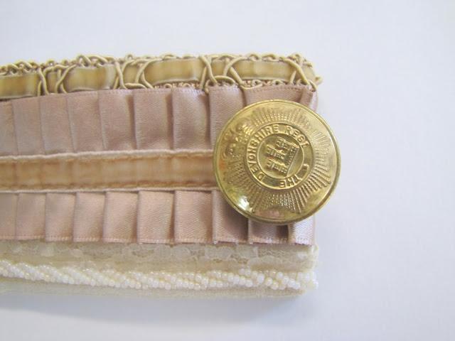 Браслет-манжета из ткани, лент и кружев IMG_8384