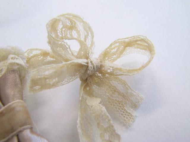 Браслет-манжета из ткани, лент и кружев IMG_8392