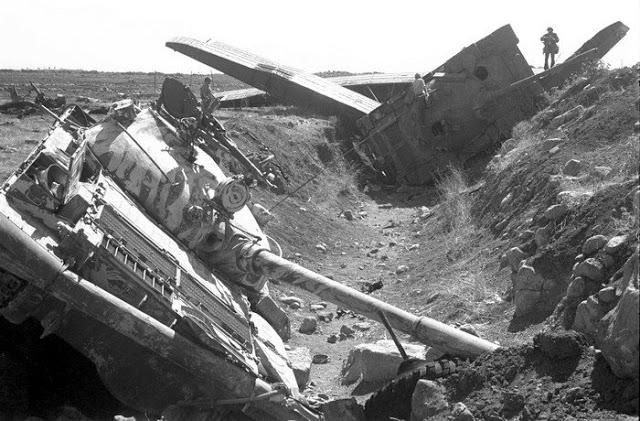 صور معركة وادي الدموع على الجبهة السورية عام 73  90