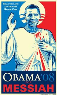 Οbama. Ενας μεσσίας για όλους... Obama-messiah