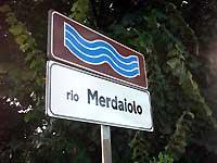 Paesi e città con nomi assurdi Merdaiolo