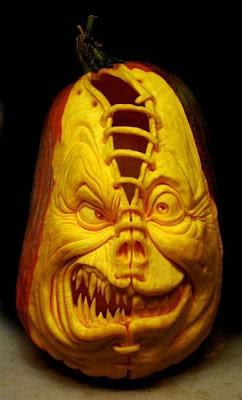 பூசணியில் செதுக்கப்பட்ட வியக்கத்தக்க உருவங்கள்  Pumpkin-carvings-01