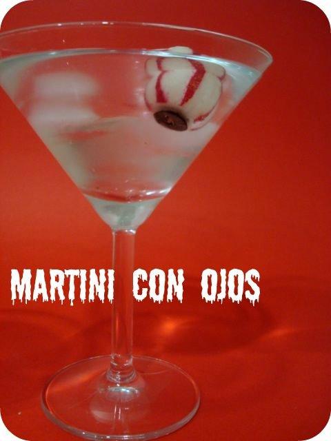 boisson d'halloween Martini