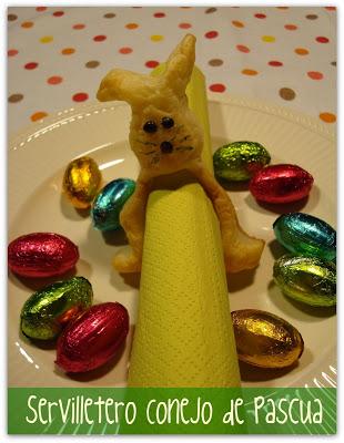 Pâques en gourmandise Servilletero
