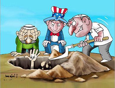 صورة كاريكاتير Gaza