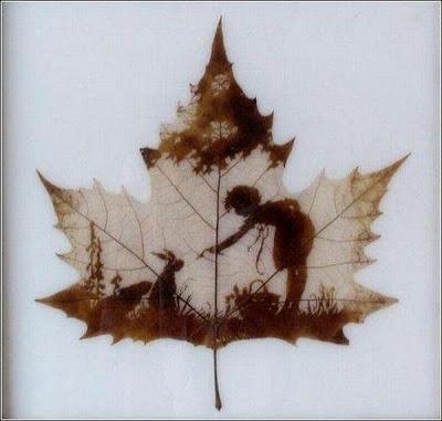 இலைகளில் அழகிய உருவங்கள்  Figures-on-leaves-03