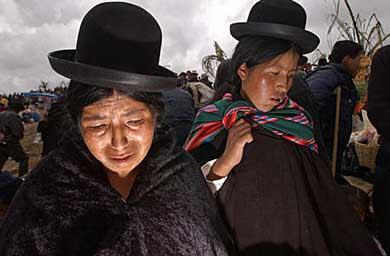 ¿Las sud americanas más feas son...? Bolivianas