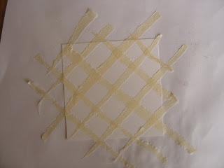 Technique au masking tape ou scotch de peintre DSC06422