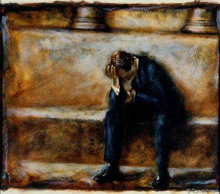 Hedonismo Hombre-llorando