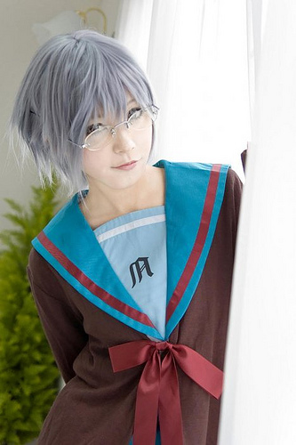 The Melancholy of Haruhi Suzumiya cosplay 3488178010_c8473d1059