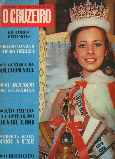 ♥♥ * *♥♥¸.· Maria da Gloria Carvalho, Miss International 1968. ♥♥ * *♥♥¸.·   Gloria-bnb