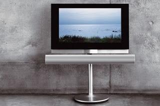 Bang & Olufsen Beo مع اصدارها 7-40 : شاشة تلفاز مع قارء اقراص Blu-ray Bo-br