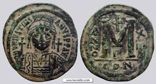 Monedas Curiosas para Cultura General Justiniano