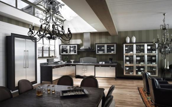مطابخ كلاسيكيه - صفحة 2 Country-kitchen-582x363