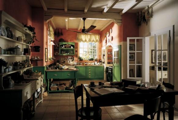 مطابخ كلاسيكيه - صفحة 2 Country-cottage-kitchen-582x393