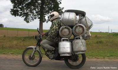 Carga máxima na Drag Moto-gas