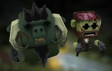 BLOG NEWS: Painting Minigore levels [UPDATEDv3] ZombieGoreBeast