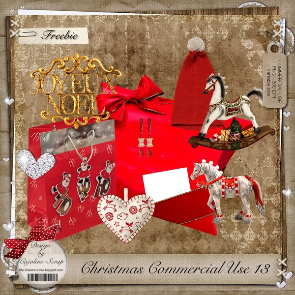 CHRISTMAS COMMERCIAL USE 13 Cajoline_christmasCU13_pv