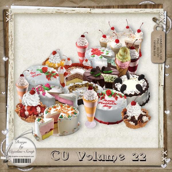 CU 22 - Embellissements - FREE for you NOW ! Cajoline_cu22