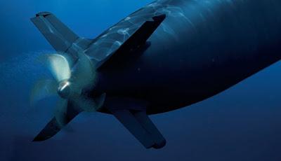 الغواصات من الفئة جوتلاند Gotland ( التي أغرقت حاملة طائرات أمريكية مرتين بكفاءة ) Scorpene%20aft