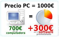 """Demandan en Italia a Microsoft por el """"Impuesto Windows"""" Precio_pc1"""