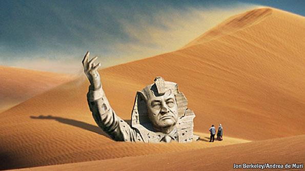 Update: La nouvelle Egypte de l´apres-révolte. - Page 6 Pharaoh_mubarak