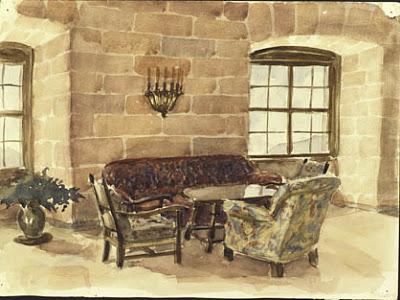 Pinturas realizadas por Adolf Hitler Hitler_Sketch_story2
