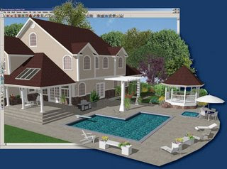 برنامج الهندسة Better Homes and Gardens - Interior Designer 7.05 Outdoor