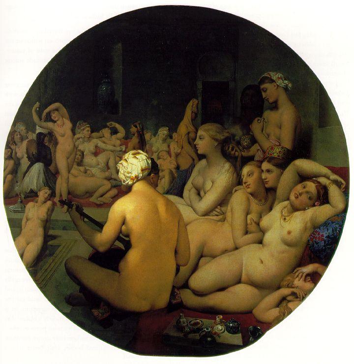 Le Cicérone de Burckhardt et l'histoire de l'art. - Page 2 Ingres_bain_turc