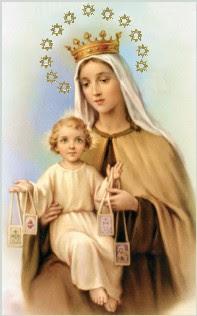Prière à Notre Dame du Mont-Carmel  NDMontCarmel