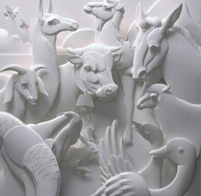 பேப்பரில் இப்படியும் செய்ய முடியுமா ? Paper-sculptures-02
