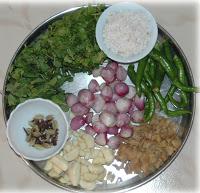 இன்று - ஆட்டுக்கறி (மட்டன்) பிரியாணி - செய்யப்போறேன் Ingredients