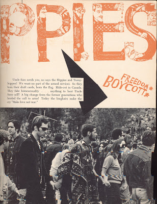 Article de Paris Match sur les hippies (Katmandou, Goa, Kaboul) 03