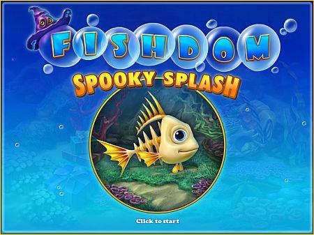 حصريا مع اللعبة المسلية الرائعة Fishdom Spooky Splash بحجم 50 ميجا فقط على اكثر من سيرفر Fishdomspookysplashload