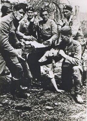 Ratno pravo u borbi sa pobunjenicima Jasenovac