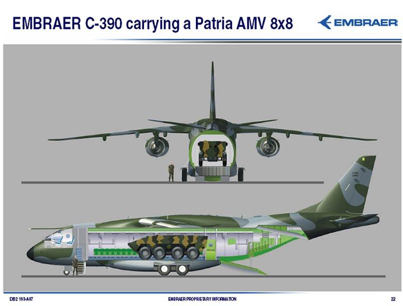 Avions de transport tactique/lourd C-390-image11