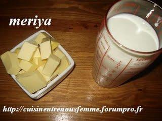 Beurre fait maison à la marocaine (Zabda lbaldiya) Zabda2