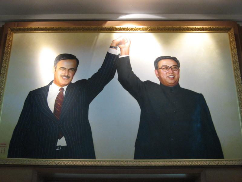 Corea Popular ha construido museos conmemorativos en Egipto y Siria Damasco