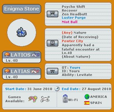 Evento Wifi: Enigma Stone EnigmaStoneEvent