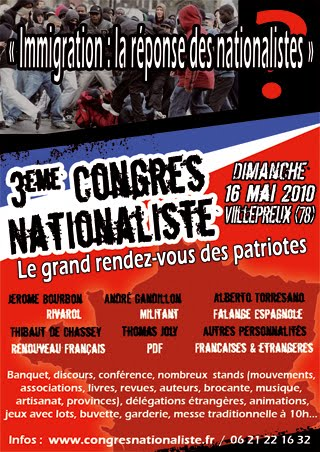 Le 3ème CONGRES NATIONALISTE Congres2010