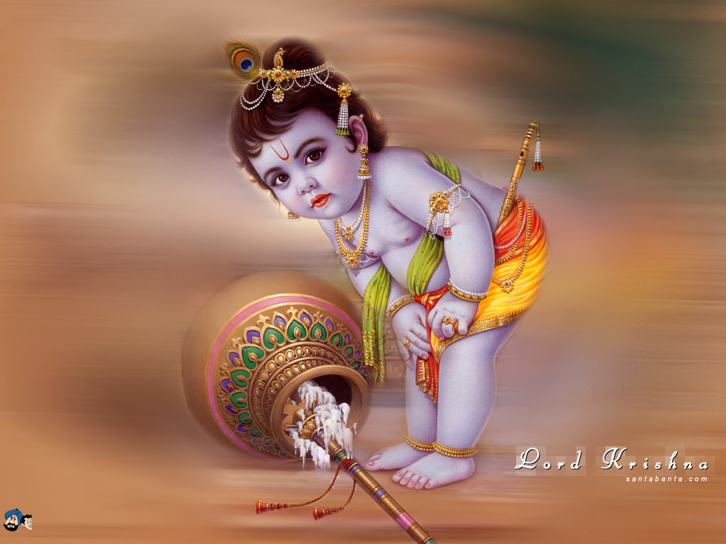 Lord Krishna Wallpapers Pictures  Baby_krishna