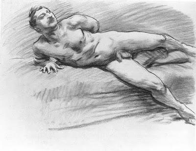 Corps masculins (pour les dames) 774px-John_Singer_Sargent_-_Reclining_Figure